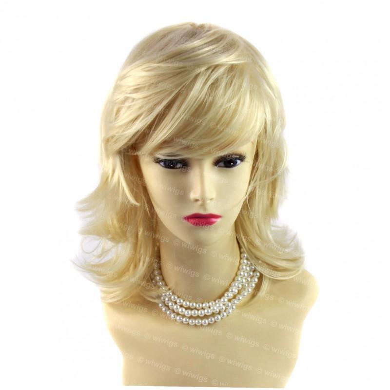 wiwigs lovely medium vanilla blonde ladies wig natural wavy hair from wiwigs uk. Black Bedroom Furniture Sets. Home Design Ideas