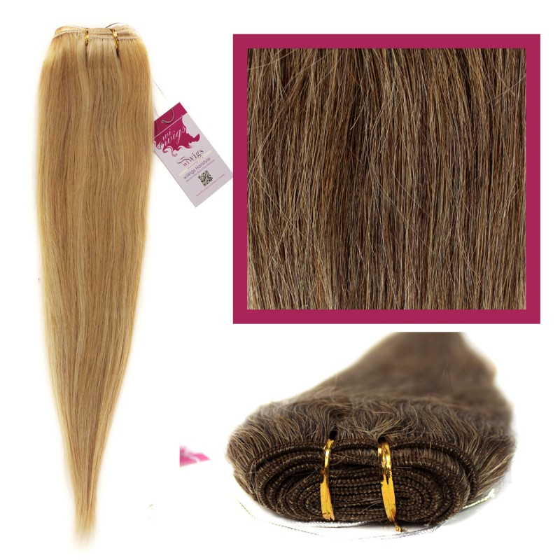 Wiwigs Diy Double Weft Lush Med Brown Honey Blonde Mix 18 Hair