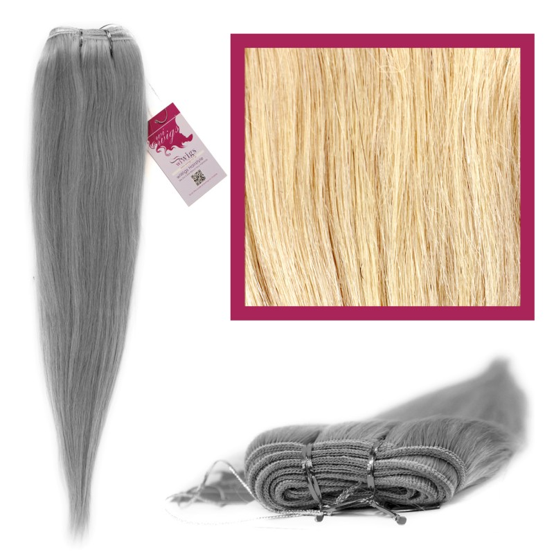Wiwigs Diy Double Weft Lush Platinum Blonde Hair Extensions