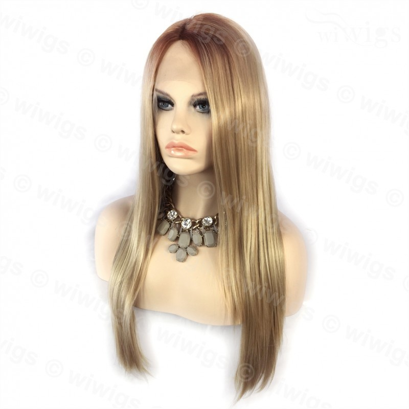 Wiwigs Wiwigs Ombre 2 Tones Lace Front Wig Straight