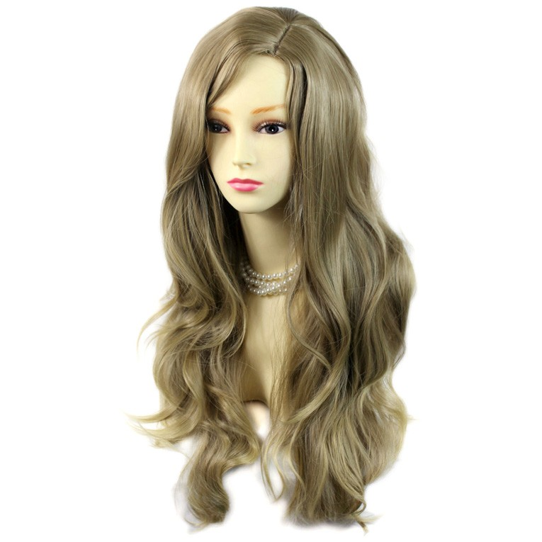 Wiwigs Sexy Fabulous Long Layers Wavy Wig Ash Blonde