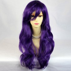 Watch Out Cosplay Long Wavy Purple Ladies Wigs from WIWIGS UK
