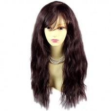 Super model Wild Untamed Black Brown & Auburn Long Wavy Ladies Wigs WIWIGS UK