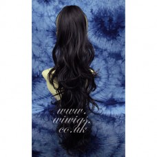 LONG BROWN Ponytail Extension Hair Piece Hairpiece