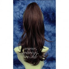 Auburn Long Ponytail Extension Hair Piece wig Hairpiece