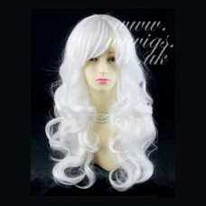 Animation Snow White Long Wavy Cosplay Theater Clubing Skin top Ladies Wigs UK