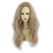 Romantic SEXY Wild Untamed Long Wavy Blonde mix Ladies Wigs WIWIGS UK