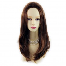 Wiwigs ® wonderful long light brown skin top straight ladies wig uk