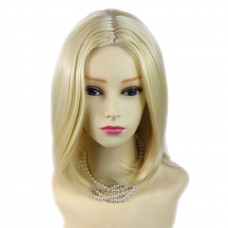 Wiwigs ® Trendy Light Blonde Medium Heat Resistant Ladies Wig UK