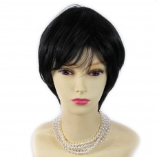 Wiwigs ® Natural Short Blonde Black Brown Full Hair Ladies Wig