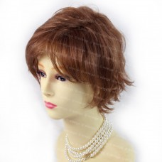 Gorgeous Short Perfect Wavy Red Auburn & Strawberry Blonde Ladies Wigs WIWIGS UK