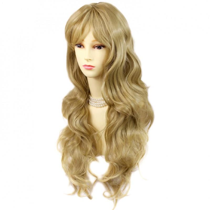Wiwigs Sexy Beautiful Curly Golden Blonde Long Wavy