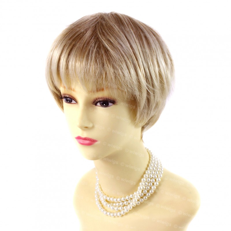 Wiwigs Beautiful Short Hair Blonde Mix Ladies Wigs
