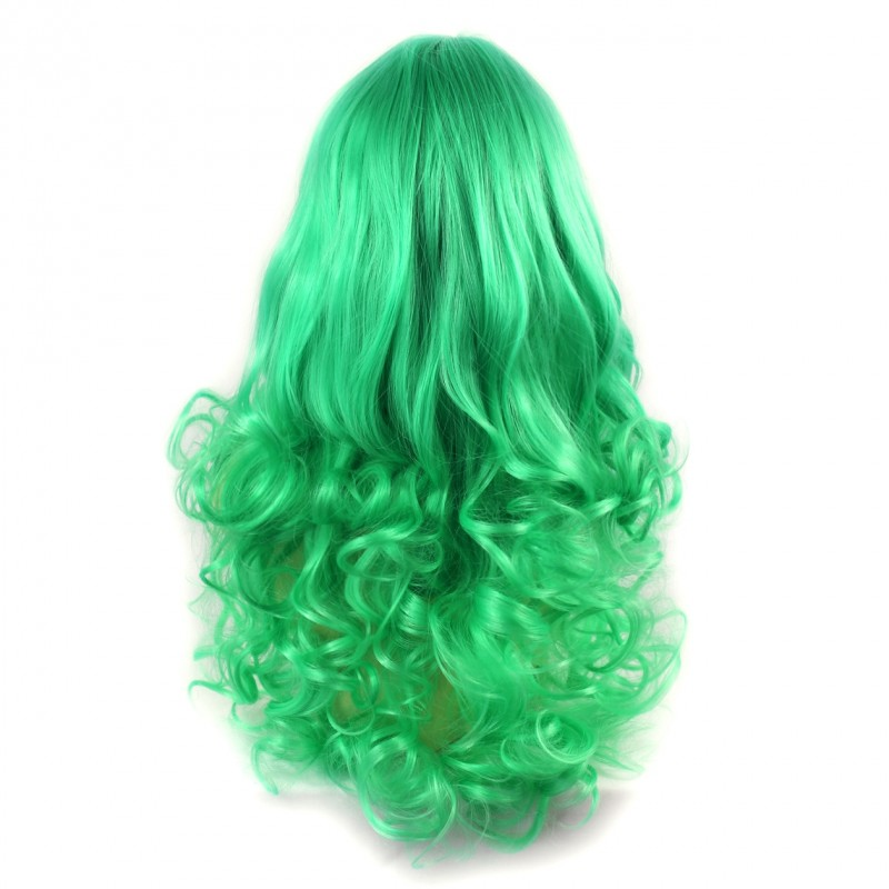 Wiwigs Wiwigs 174 Romantic Long Curly Wig Green Amp Light
