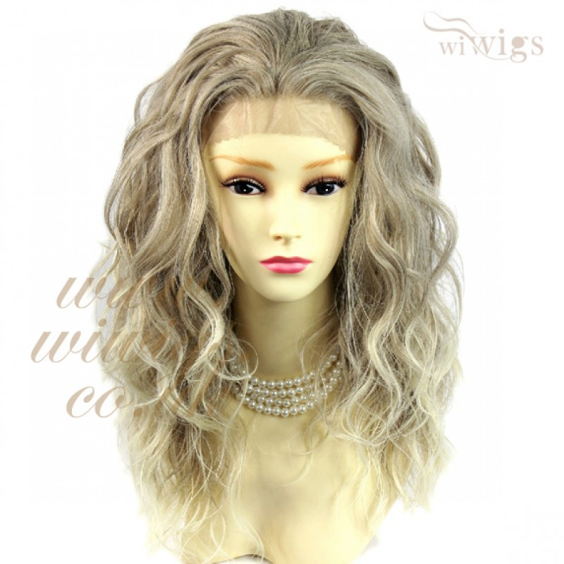 wiwigs amazing beautiful lace front wig light ash brown