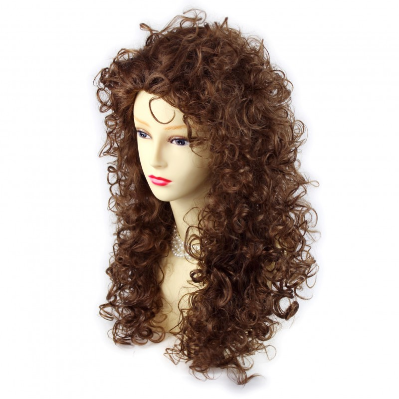 Wiwigs Amazing Sexy Wild Untamed Long Curly Wig Light
