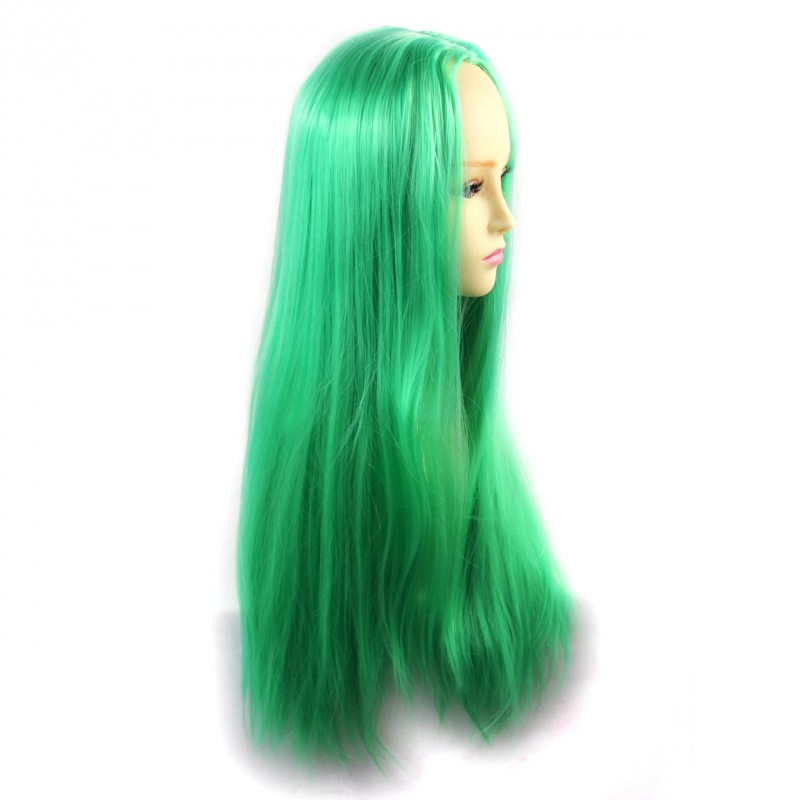 Wiwigs Wiwigs 174 Romantic Long Straight Wig Green Amp Light