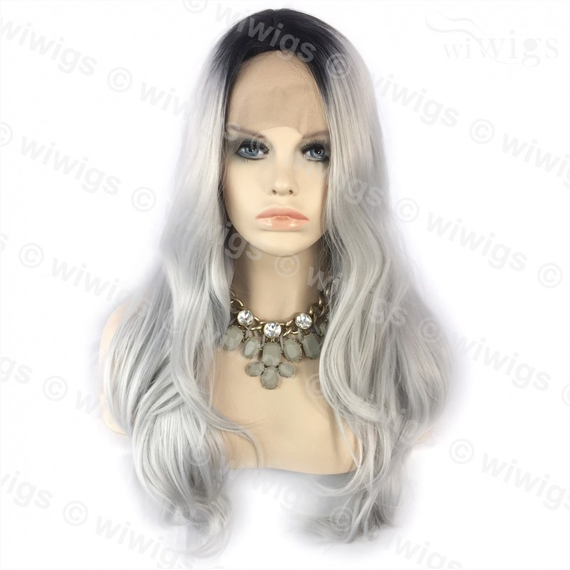 Wiwigs Wiwigs Ombre 2 Tones Lace Front Wig Straight Dark