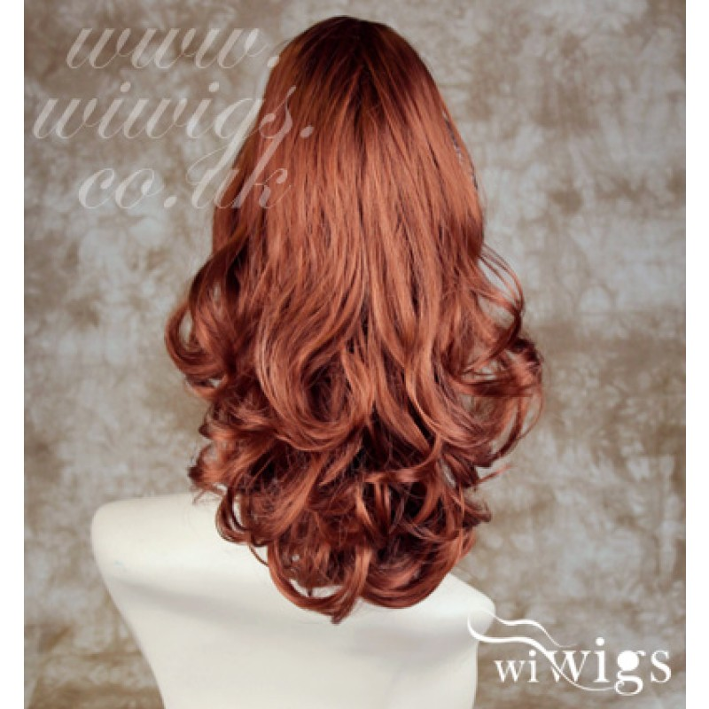 Wiwigs - Fox Red Ponytail hairpiece Extension Jaw Claw Clip in on ... 6ee83006560c