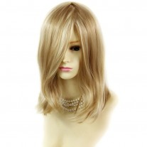 Faceframe Blonde Mix Medium Bob Style Ladies Wigs from WIWIGS.