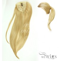 Wiwigs Ladies 1 Piece Clip Blonde Mix Wrap around Pony