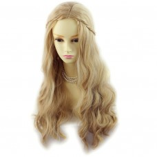 Pretty long Wavy Blonde Mix Ladies Wigs Skin Top Hair From Wiwigs Uk