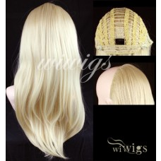 Wiwigs Long Straight Light Blonde 1 Piece Hair Extension Hairpiece