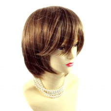 Posh Short Champagne Blonde mix Ladies Wigs Summer Natural hair from WIWIGS UK