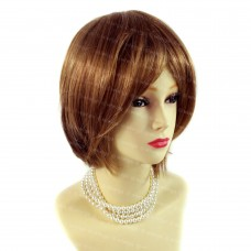 Posh Short Strawberry Blonde mix Ladies Wigs Summer Natural hair from WIWIGS UK