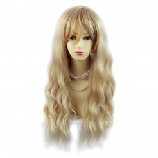 Wiwigs ® Beautiful Fashion wavy Blonde mix Long Ladies Wigs Full hair