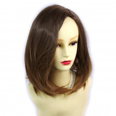 Wiwigs ® Wonderful Medium Bob Style Wig Strawberry Blonde & Light Brown Dip-Dye Ombre Hair UK