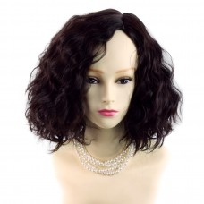 Wiwigs ® Lovely Brown Auburn Short Curly Summer Style Skin Top Ladies Wig