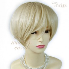 Posh Short wig Vanilla Blonde Summer Style Hair Ladies Wigs from WIWIGS UK
