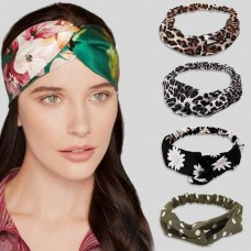 Tropical Print Knot Hairband