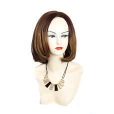 Wiwigs ® Posh Pretty Short Bob Style Full Hire Blonde & Brown Ladies Wigs