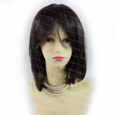 Gorgeous Short BoB Style Black Brown & Strawberry Blonde Ladies Wigs from WIWIGS
