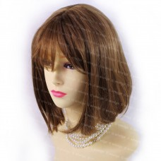 Gorgeous Short BoB Style Strawberry Blonde & Brown Ladies Wigs from WIWIGS UK