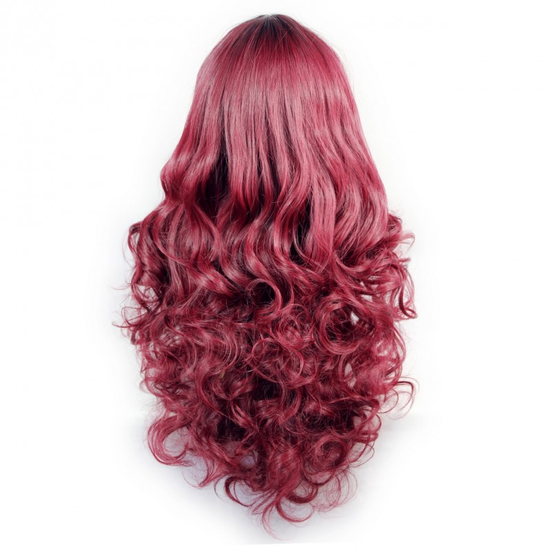 Wiwigs Wiwigs 174 Romantic Long Curly Wig Burgundy Amp Off