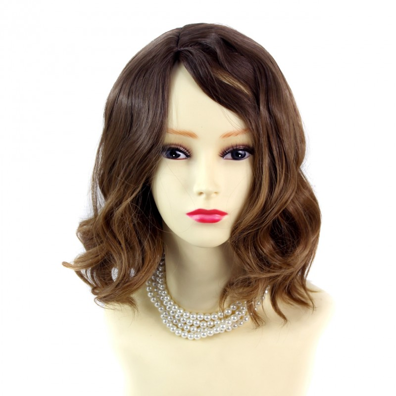 Wiwigs Wiwigs 174 Lovely Short Wavy Wig Strawberry Blonde